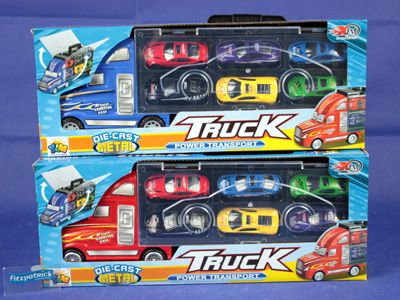 Car Transporter Case W/6 Cars