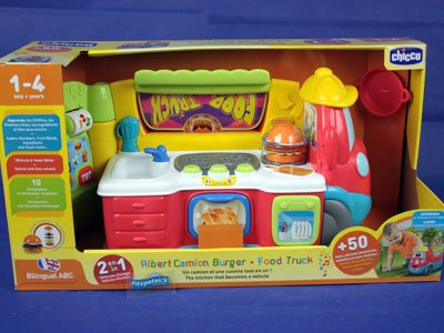 Chicco Play Food Truck W/access.