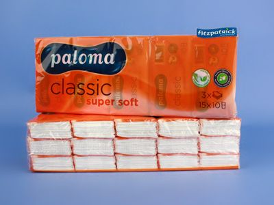 Paloma Pocket Tissues 9in-15pk