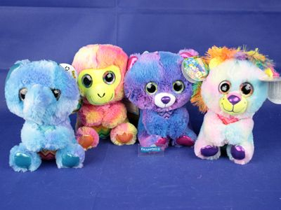 Plush Jungle Animals Asstd 25cm