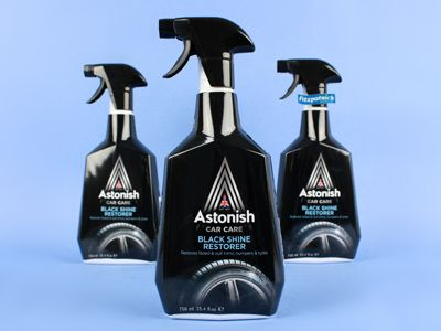 Astonish Black Shine Restore 750ml