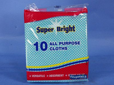 Superbright All Purpose Cloth 10in