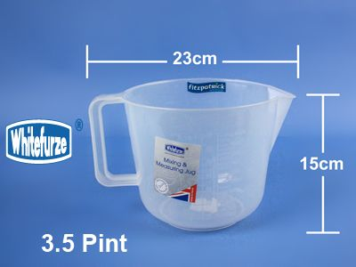 Whitefurze Mixing Jug 3.5 Pint