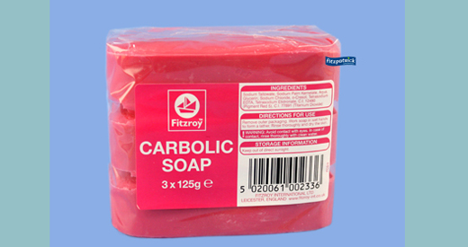 Fitzroy Carbolic Soap 3 X 125g