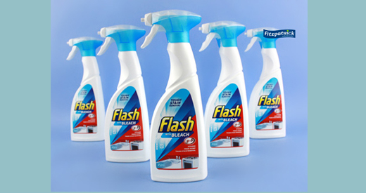 Flash Spray W/bleach 500ml