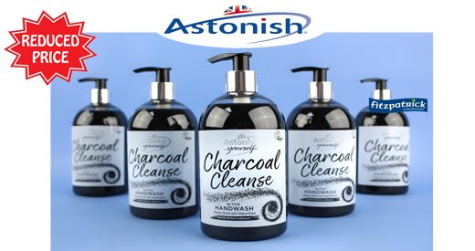 Astonish Charcoal Handwash 500ml