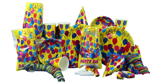 PARTY LOOT BAGS P.B.H. 6in