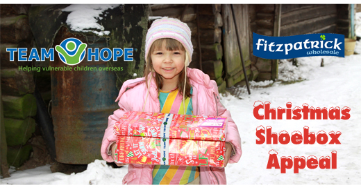Team Hope Shoe Box