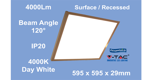 Vtac Led Surface Panel 40w